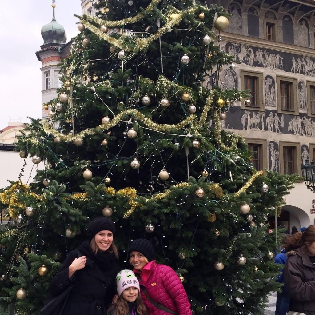 Prag'da yılbaşı