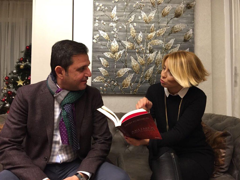 Fatih Portakal- Aklımla dalga Geçme röportaj